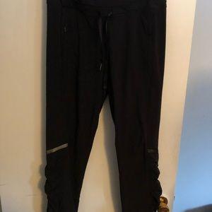 Black waterproof pants